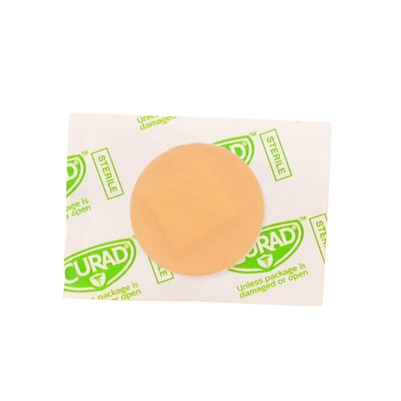 50 Uds banda de ayuda impermeable transpirable cojín adhesivo yeso herida Hemostasis pegatina banda Primeros Auxilios vendaje Kit de emergencia