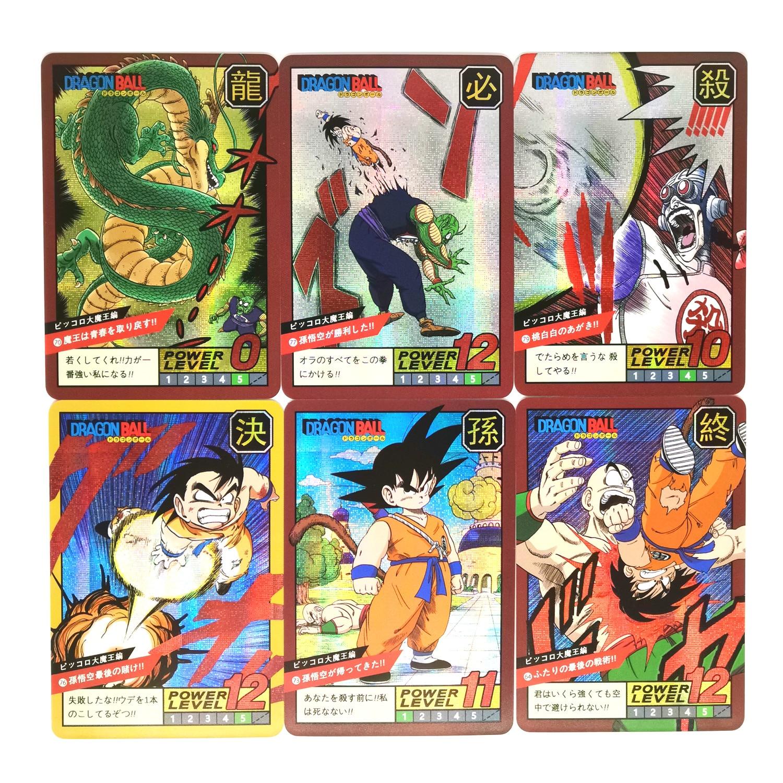 40pcs Super Dragon Ball Z Story 2 Heroes Battle Card Ultra Instinct Goku Vegeta Game Collection Cards