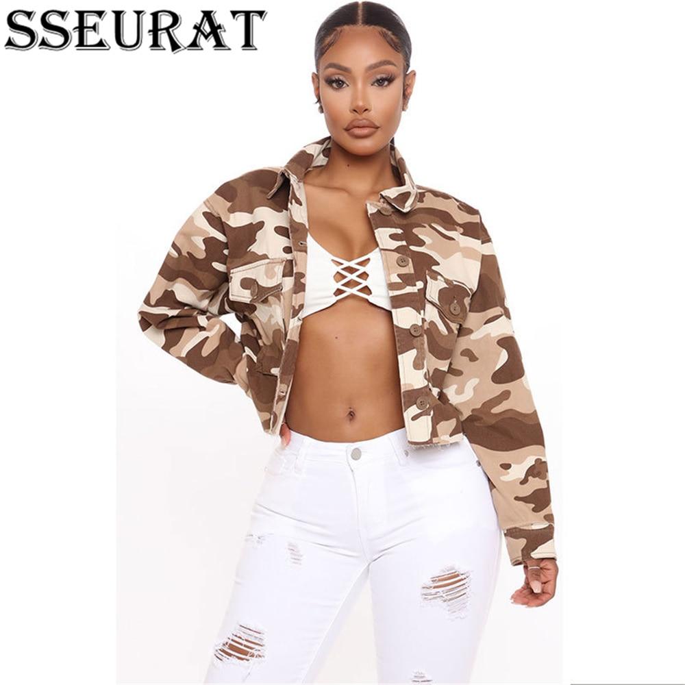 SSEURAT   Women's Short Coat  Autumn and Winter Slim Long-sleeve Lapel Single-Breasted Women's Coat