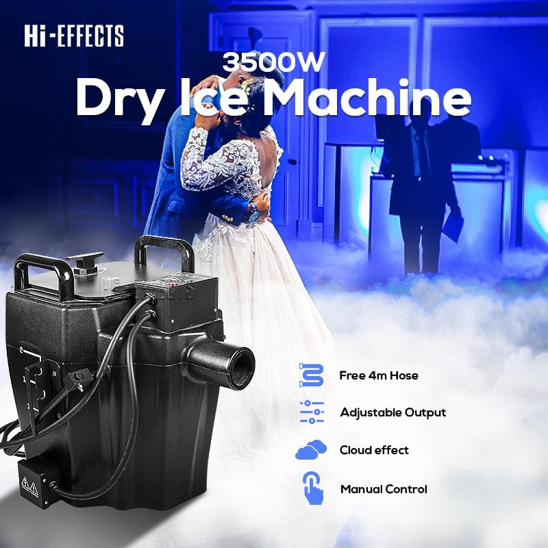 آلة ضباب جافة للثلج الجاف ، آلة دخان منخفضة ، لحفل الزفاف ، الحفلة ، معدات المسرح ، رذاذ منخفض ، 3500 واط