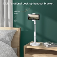 Universal Phone Holder Flexible 360 Clip Mobile Cell Phone Holder Adjustable Desktop Bracket Mount S