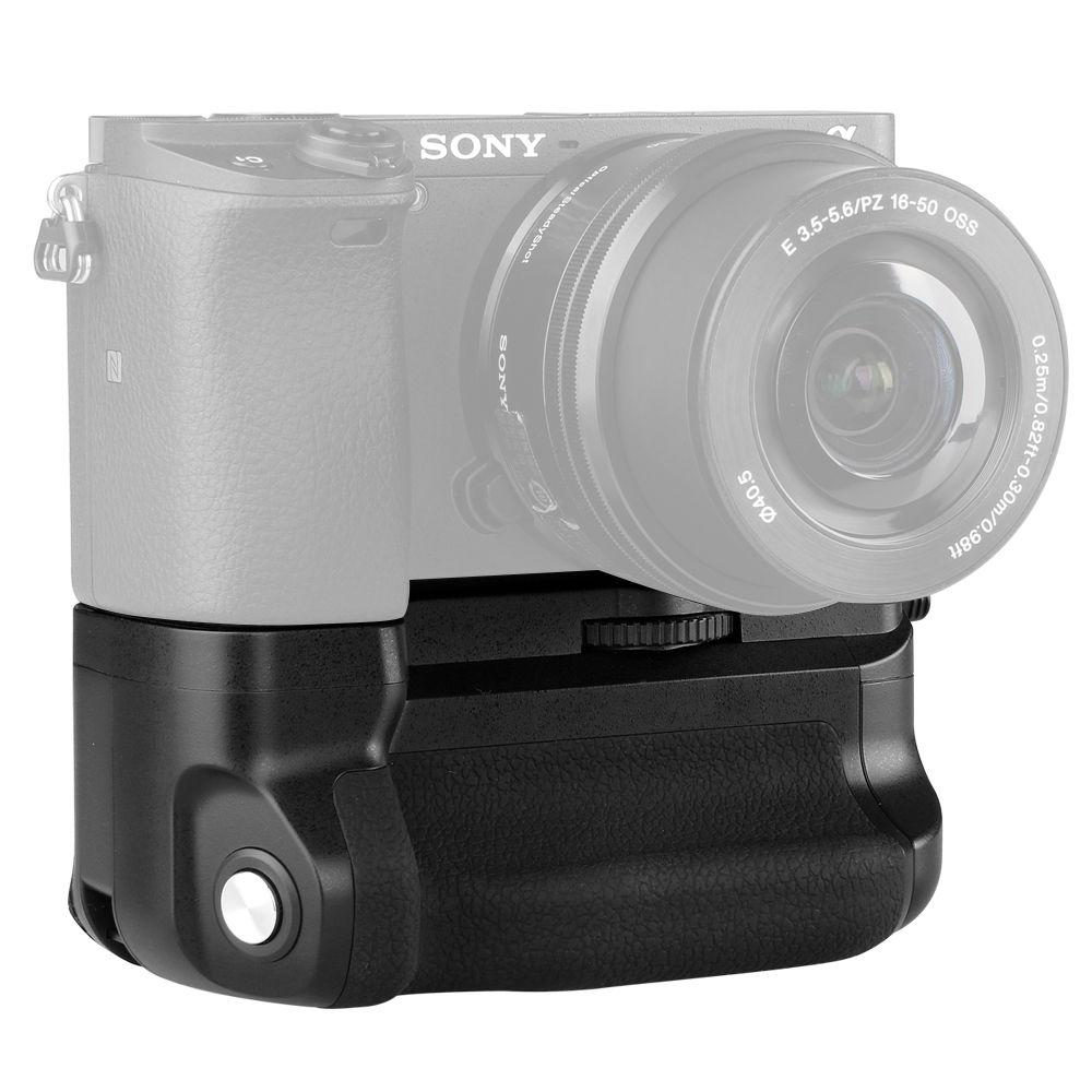 Meike MK-A6300 empuñadura Vertical mano pack soporte para Sony A6300 ILCE-6300 Cámara NP-FW50