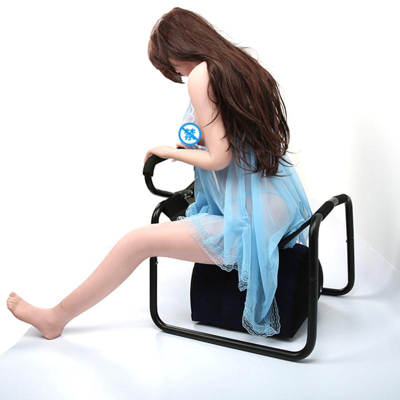 Vibrador love, silla con asa, almohada sensual inflable, Kit de muebles, Bounce multifuncional sin peso, taburete de elasticidad, silla sexual