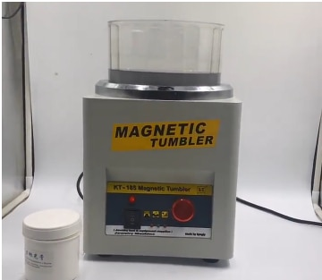 KT185 كوب مجوهرات مغناطيسي 18 سنتيمتر ، تشطيب فائق ، 110 فولت ، 220 فولت ، جودة عالية