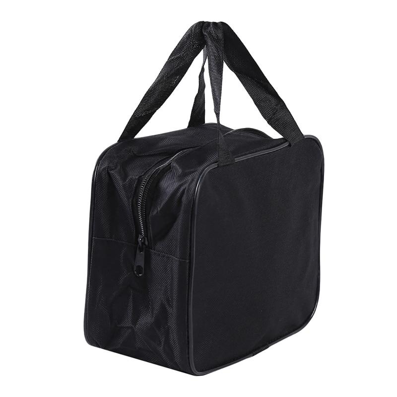 Черный сумка-Органайзер для хранения нейлоновый чехол для автомобильного компрессора