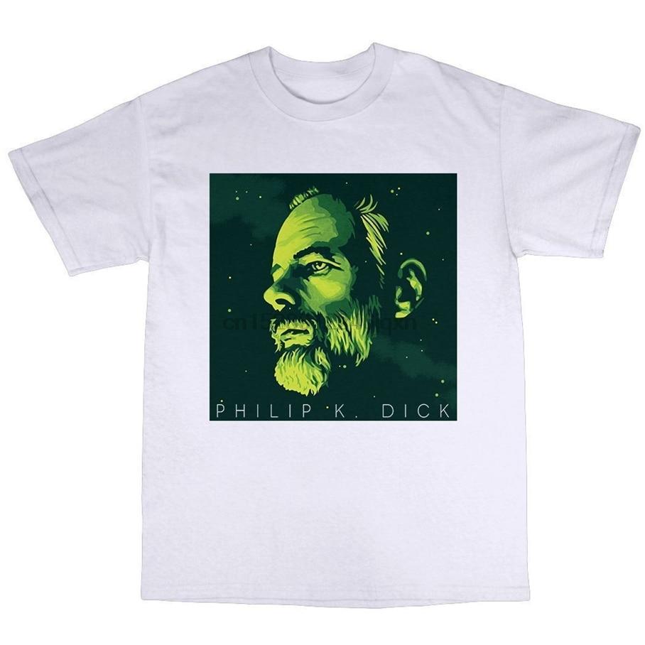 Camiseta de algodón Ubik A 100% de la hoja oscura del escáner Valis Harajuku del corredor de la hoja oscura