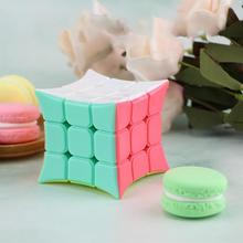 Patch convexe lisse Puzzle Cube Alien en forme de Cube jouet enfant intéressant Stress jouets magique Rubic Cube