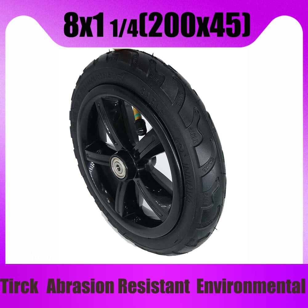 8 Inch 8x1 1/4 Tire200x45 Inner and outer tube for Pram stroller Toddler stroller 8 inch Wheel
