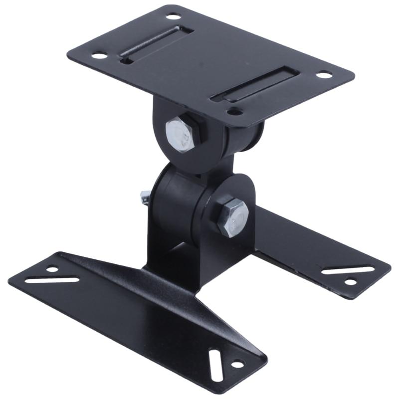 """Plsama, soporte de montaje en pared para TV giratorio, Ultra delgado, inclinado, para VESA de 14-24 pulgadas, 50-400mm(10 inclinaciones y giratorias de 14 """"-24"""")"""