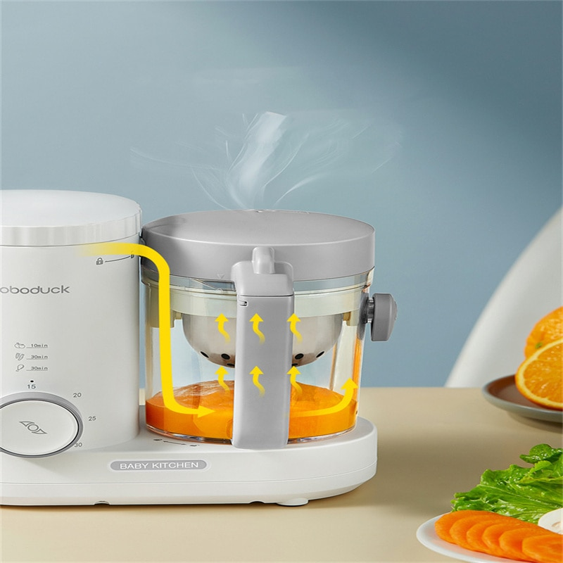 2021 Newest  Baby Food Supplement Machine   Cooking and Mixing Artifact   Small Multifunctional  Juicer enlarge