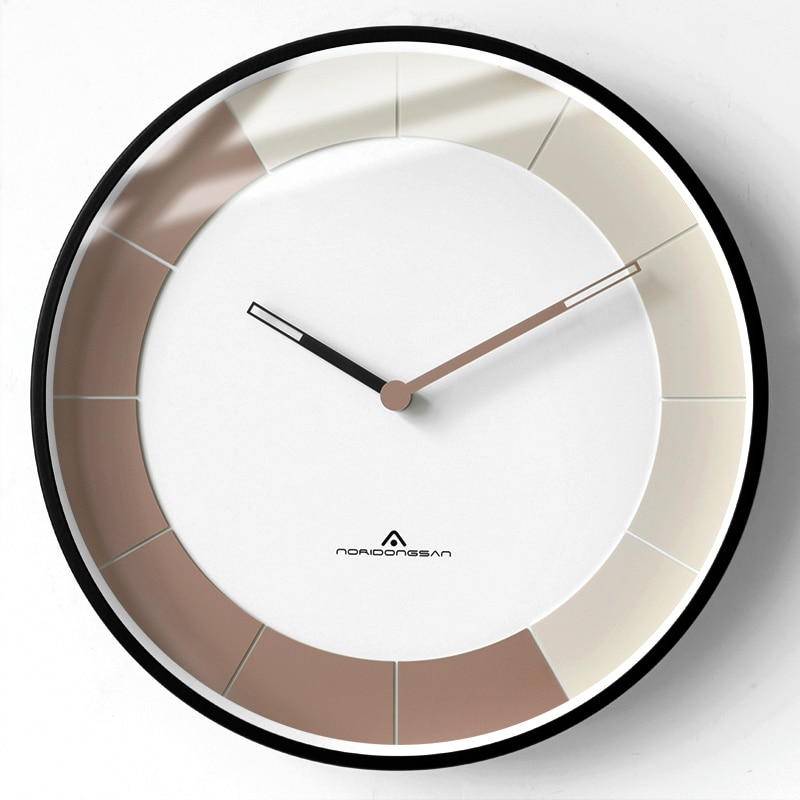 Reloj De Pared Moderno y nórdico, Reloj De Pared redondo y sencillo...