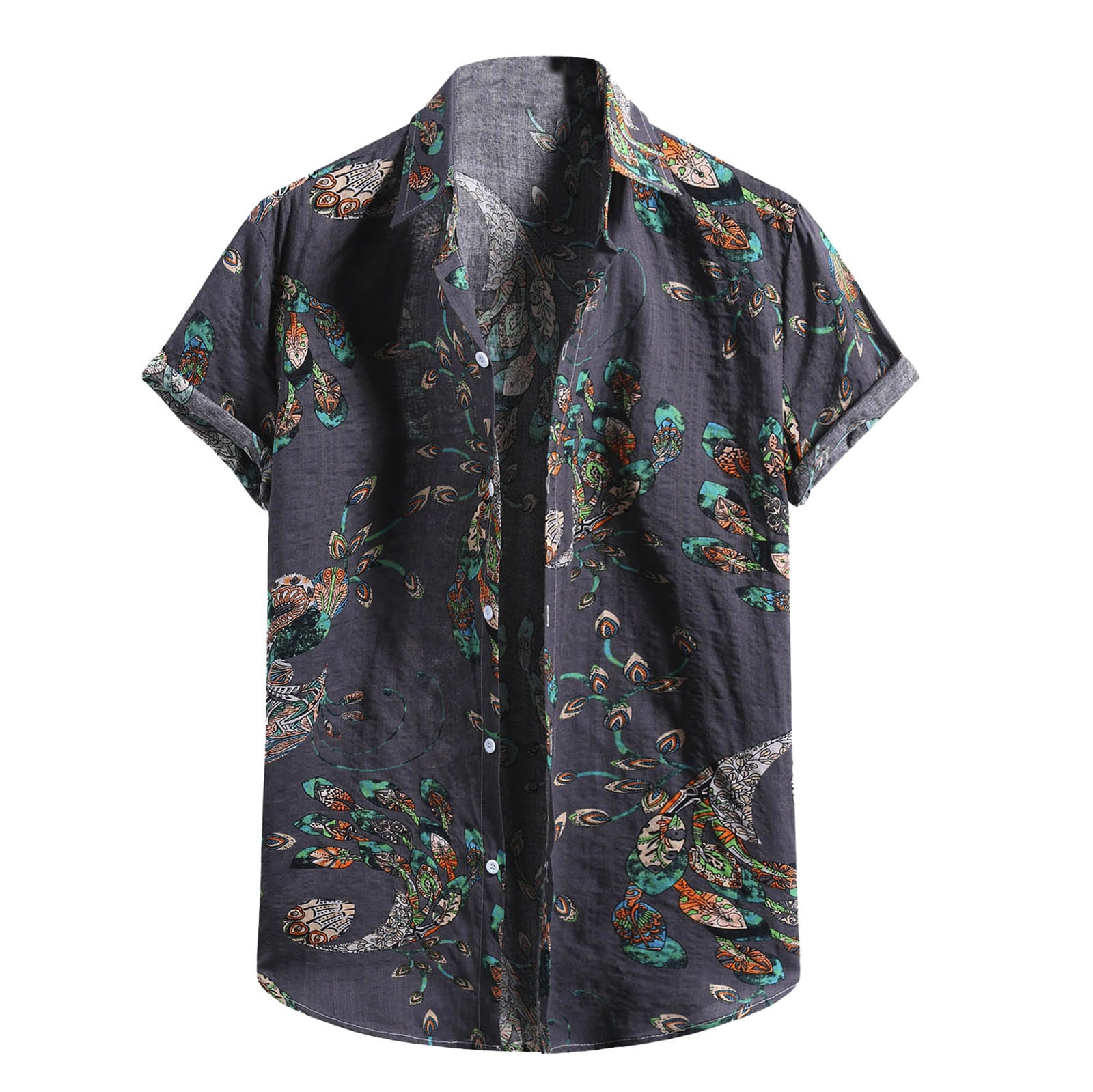 Camisa De manga corta para hombres, camisa De diseño fresco con estampado...