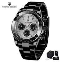 pagani design top brand mens sports quartz watch luxury men waterproof watch mens stainless steel automatic watch reloj hombre
