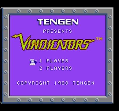 Vindicators-tarjeta de juego de 60 Pines, personalizada, para jugador de juegos de...