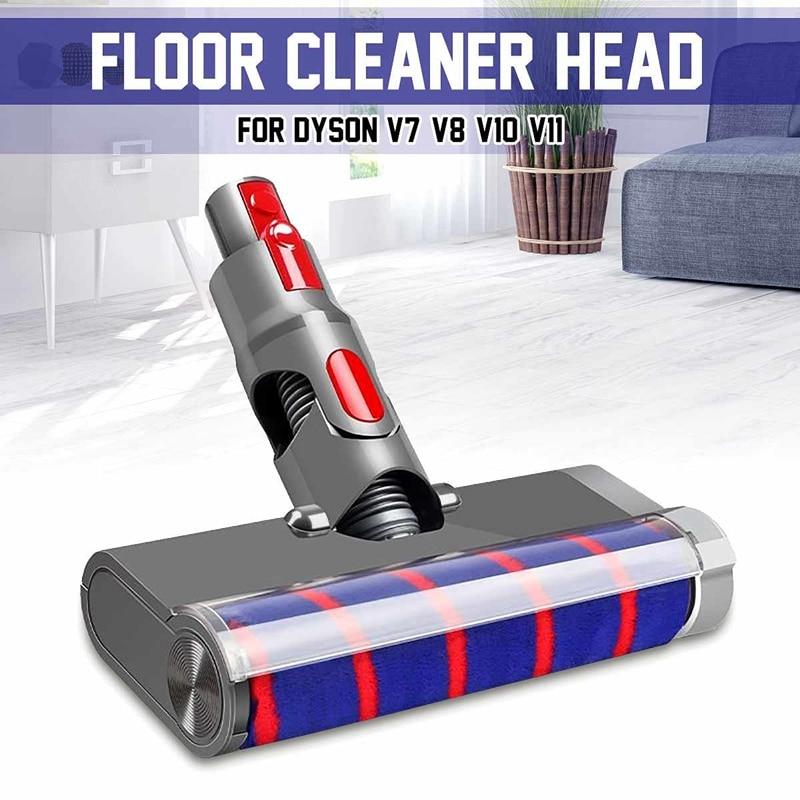 Cabeza de cepillo de suelo eléctrico cabeza de rodillo suave esponjoso absoluto,...