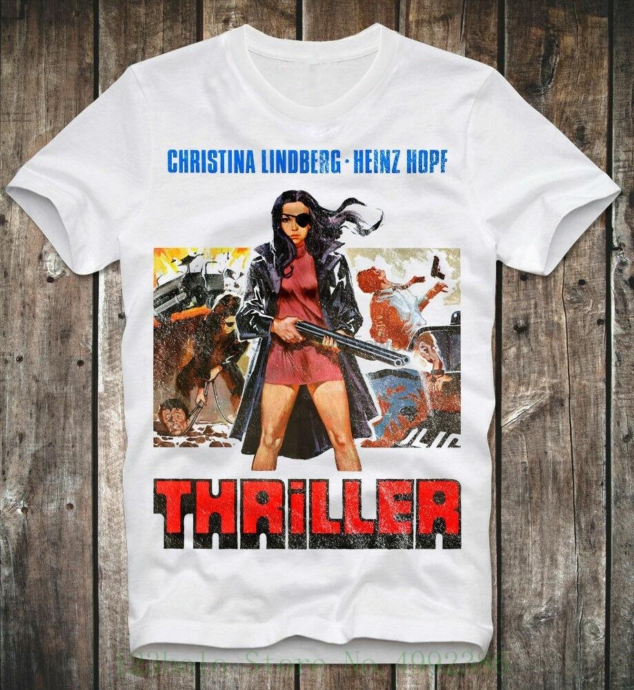 ¡Seltene Gegenst dónde! Camiseta Thriller A funny Picture explotation B-Movie porno camiseta hombres verano