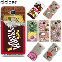 ciciber Chocolate Donut for BQ Aquaris U2 C U X5 V VS X2 X M Plus Lite Pro Soft TPU Phone Case Capa for BQ M5 E5s M5.5 FHD Funda