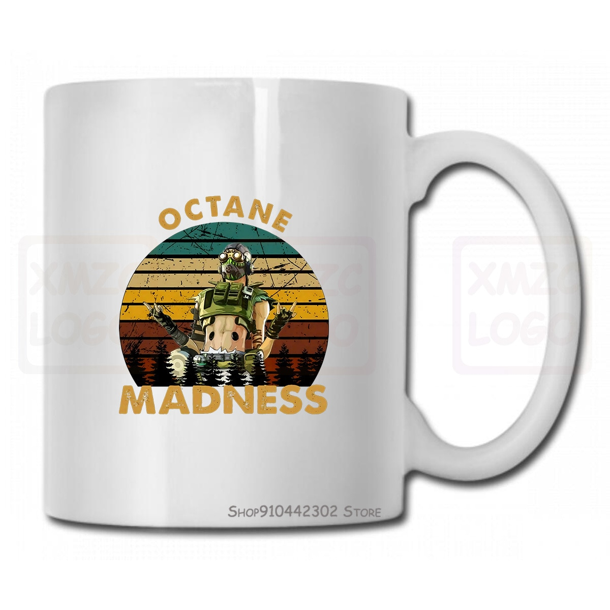 Octane Madness, винтажные, Apex Legends, Zipline Time, игра, подарок для геймеров, кружка для женщин и мужчин