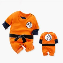Dragon DBZ Ball Z Anime Costume Newborn Baby Boy Clothes Children Overalls Kids Clothing Infant Romp