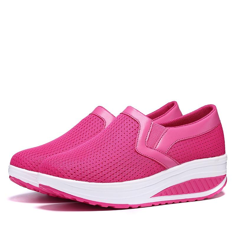 Zapatos sueltos para mujer, zapatillas femeninas informales, de parte de abajo de...