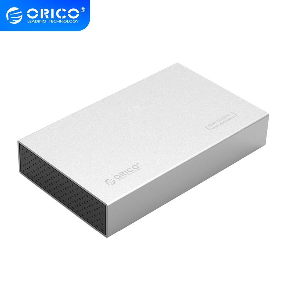 ORICO 3518S3 Aluminum SATA 3.0 to USB3.0 Type-B 2.5 / 3.5 inch SSD / Sata HDD Enclosure Storage (3518S3)