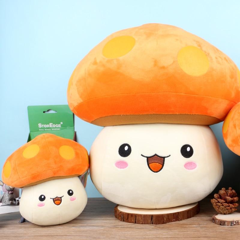 30cm Anime Official MapleStory Mushroom Plush Toys Cute Stuffed Dolls For Kid Gift