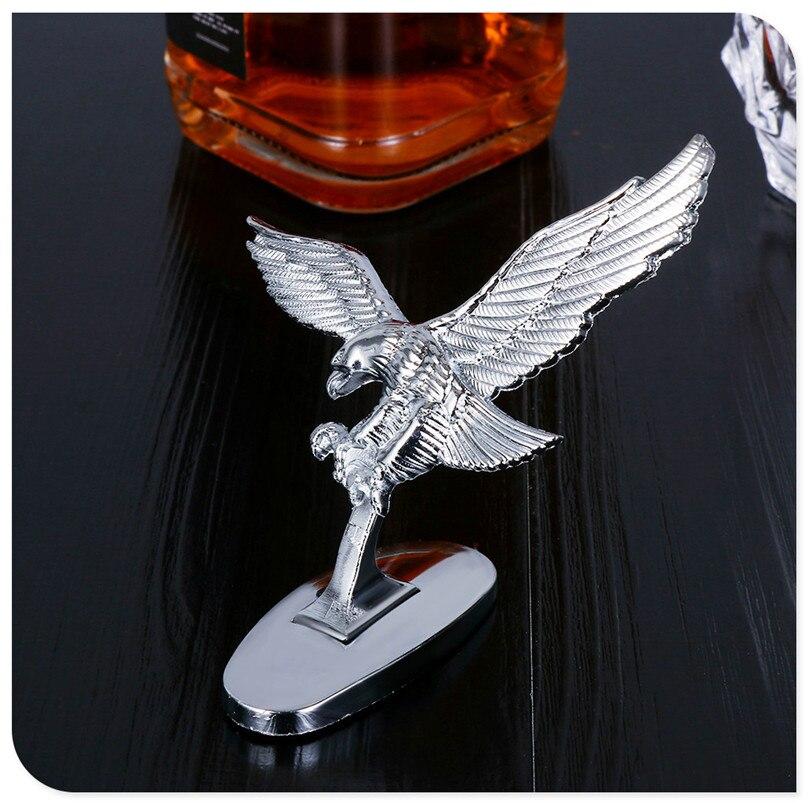 Capa dianteira do carro águia ornamento emblema auto 3d emblema decoração para ford taurus mondeo galaxy falcon everest S-MAX escolta