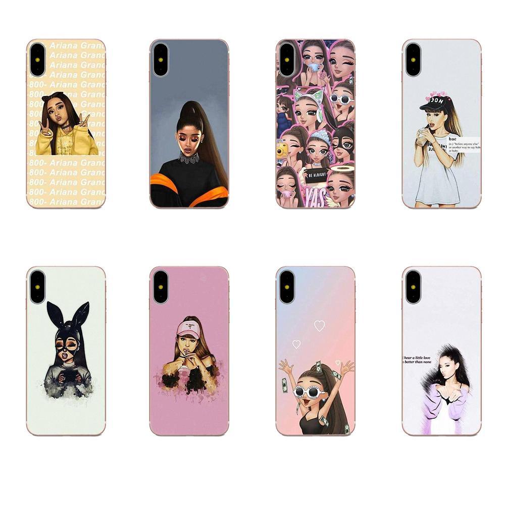 Coque de Ariana Grande atrás casos Slim para Huawei P7 P8 P9 P10 P20 P30 Lite Mini Plus Pro Y9 primer P Smart Z 2018 de 2019