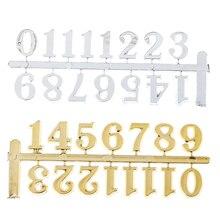 Diy relógio digital peças numerais restaurar antigas maneiras acessórios digitais movimento relógio de quartzo para reparo do relógio