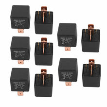 DC 12V Coil 80A 5 Pins SPDT Car Automotive Alarm Security Power Relay 10pcs
