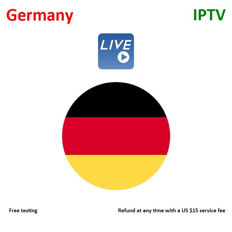 Receptor de TV vía satélite V6S V6 V10 V8S V9 R8, servicio de TV IP alemán, soporte Android X96 MAG H96 X88