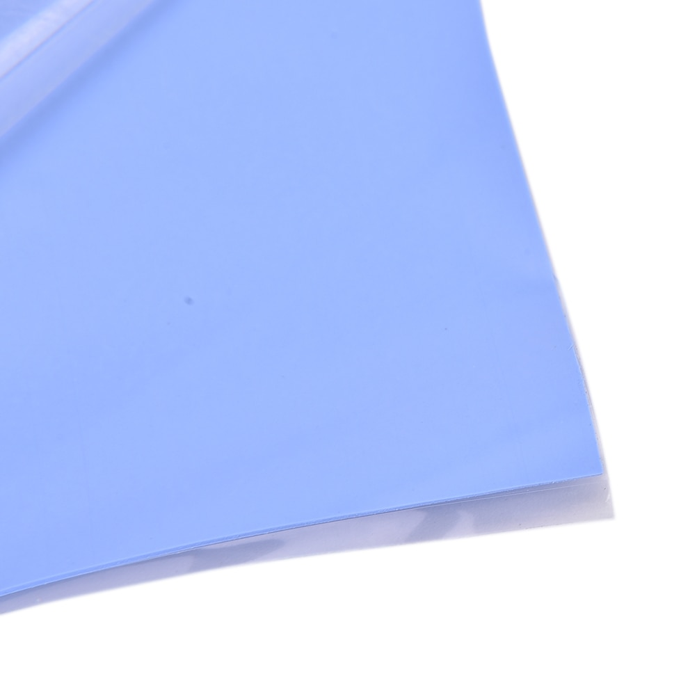 new gpu cpu heatsink cooling conductive silicone pad ic heat dissipation 100mm 100mm 1mm thermal pad high quality GPU CPU Heatsink Cooling Conductive Silicone Pad Thermal Pad 100mm*100mm*0.5mm