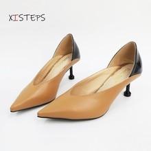 Women High Heels Point Toe Party Dress Pumps Female Wedding Shoes Spring Summer Thin Heels Office La