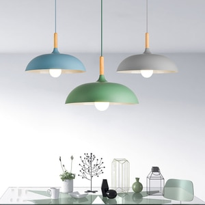 colgante luces Pendant-Light Lighting Hanging-Lamp Bedroom Restaurant Nordic Modern Art Simple-Bar And
