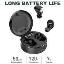 T5 Bluetooth headset5.0 TWS earpods headphones sport gaming hifi stereo waterproof noise canceling m