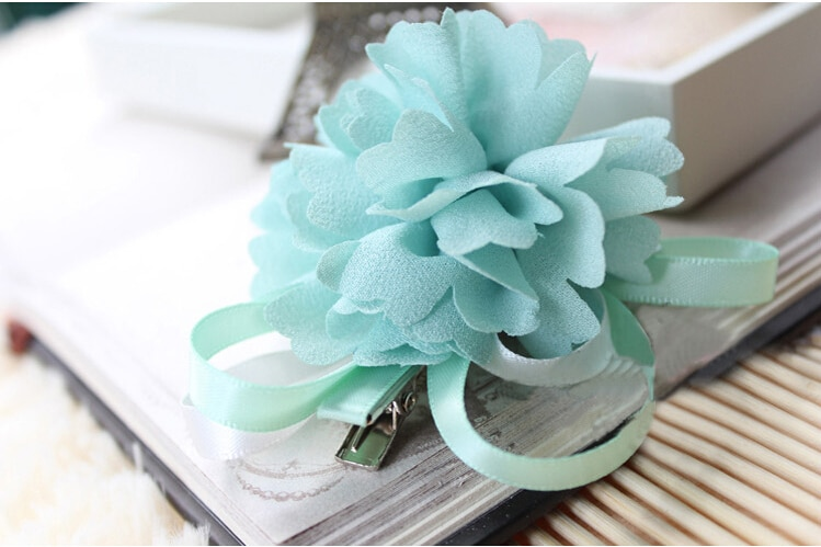 Cinta lisa de gasa de 3x95cm con tela para ramos de invitación de boda, Material DIY para lazo de pelo hecho a mano, 1Yc10263
