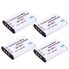 NP-BY1 NPBY1 BY1 Bateria + Carregador de bateria Para Sony NP HDR-AZ1VR AZ1 AZ1V AZ1VR Cam Ação Esporte Filmadora Mini np by1