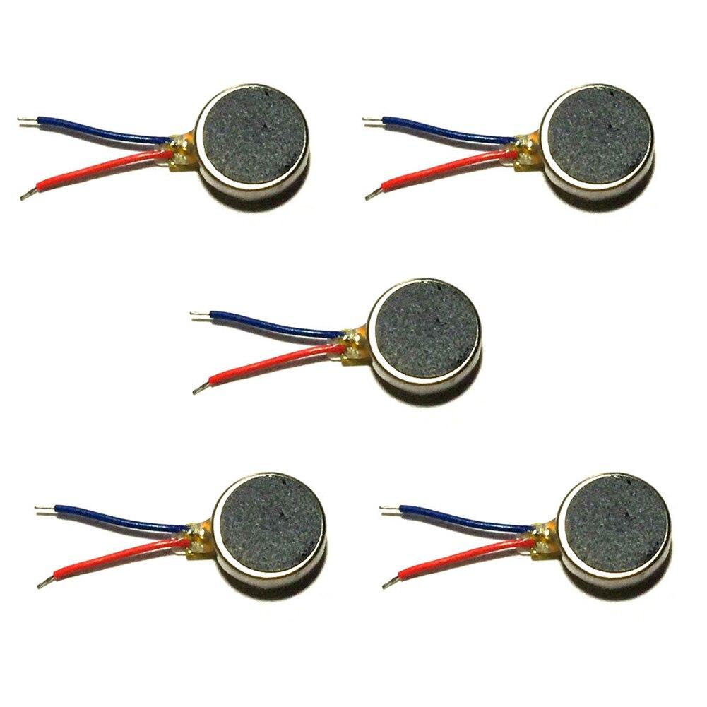 Motor vibrador de moneda adhesivo con Cable plano Micro cepillado DIY DC taller accesorios de reemplazo de controladores