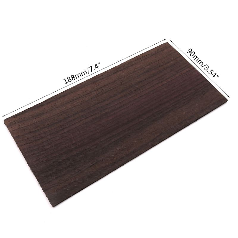 2 unids/set tablero de maquillaje de palisandro guitarra popular acústica cabeza parche hojas chapa piezas