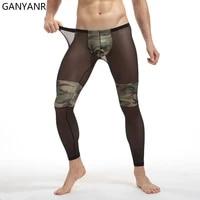 ganyanr running tights men compression pants gym leggings fitness yoga sexy basketball sport jogging training athletic training