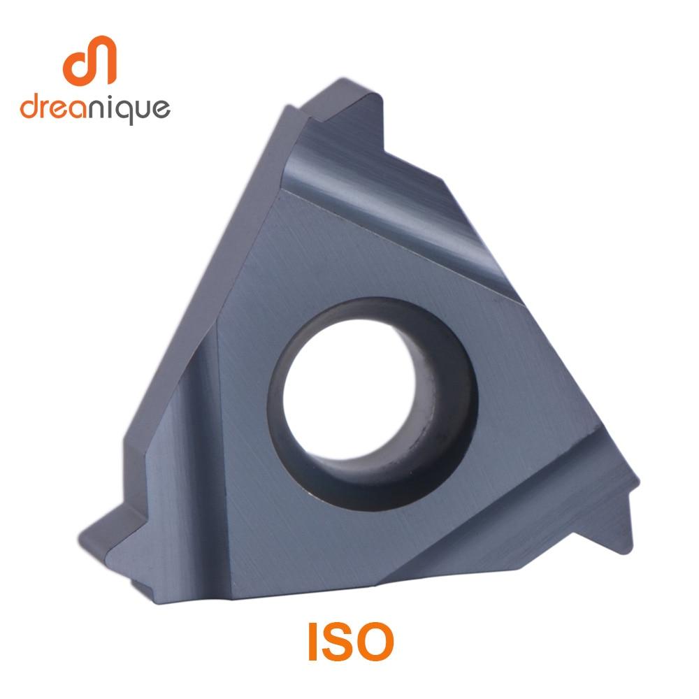 ISO filetage Outil de Tournage 11IR 16IR 16ER 0.5 -3.5mm interne et externe insert fileté Général pitch
