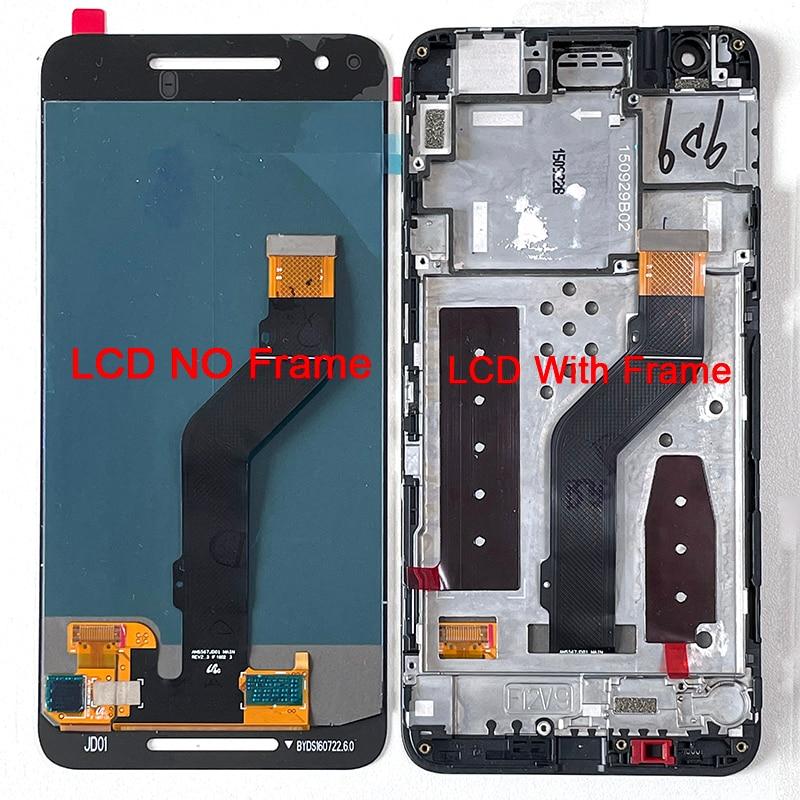 شاشة عرض LCD + محول رقمي للوحة اللمس مع إطار لشاشة Google Nexus 6P, شاشة Amoled M & Sen أصلية 5.7 بوصة لهاتف Huawei Nexus 6P