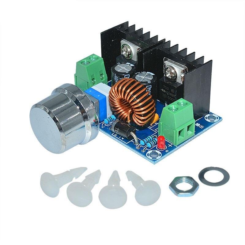 XH-M401 DC-DC abaisseur Buck convertisseur Module dalimentation PWM réglable 4-40V à 1.25-36V DC DC régulateur de tension 8A 200W