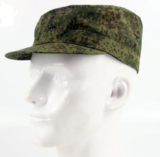 Gorra militar rusa, gorra de combate de camuflaje digital de jungla