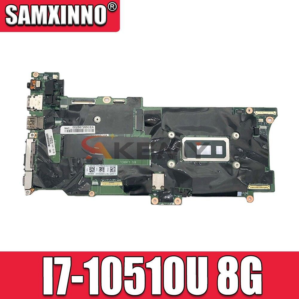 GX490 NM-C661 لينوفو X1C X1 الكربون 8th الجنرال X1 اليوغا 5th الجنرال اللوحة الأم للكمبيوتر المحمول مع وحدة المعالجة المركزية I7-10510U ذاكرة الوصول العشوائي...