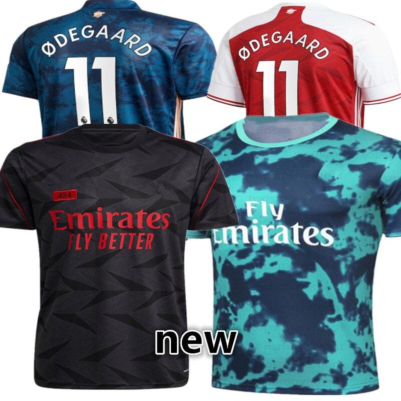size S-4XL shirt Odegaard BELLERIN SAKS XHAKA AUBAMEYANG OZIL LACAZETTE PEPE THOMAS new 2021-22 ArsenalES shirt Top Quality