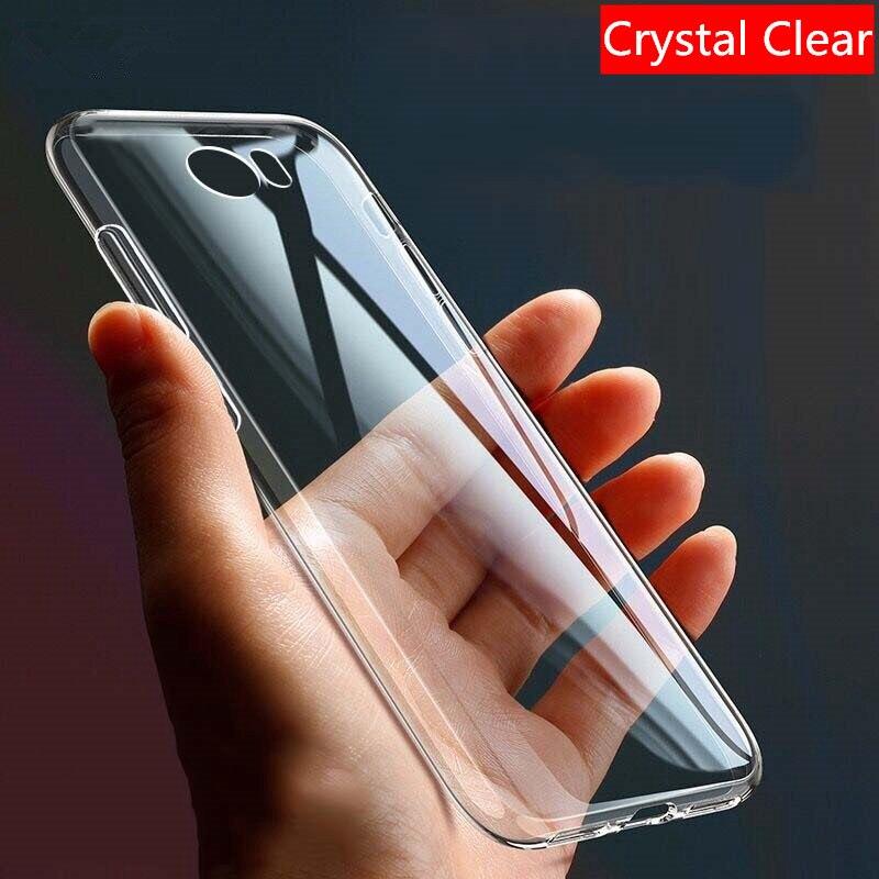 Funda de teléfono suave para Huawei P20 P30 P40 Mate 10 20 Honor 10 Lite Pro P Smart Y5 Y6 2018 TPU silicio transparente fundas claras