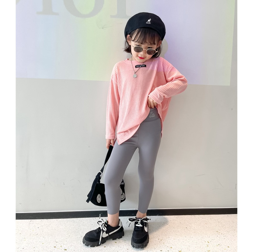 AliExpress - Girls Shark Skin Leggings 2021 Spring Children's Tight Stretch Leggings Kids Sports Stretch Pants