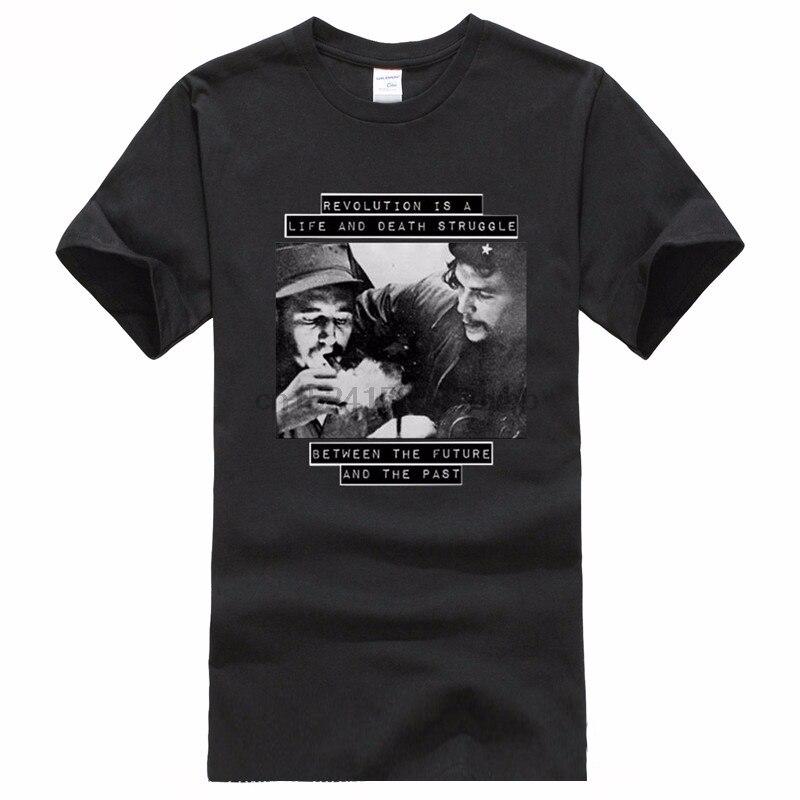 Beste T Hemd Websites Männer Licht Fidel Castro Che Guevara Oansatz Baumwolle Kurzarm Shirts
