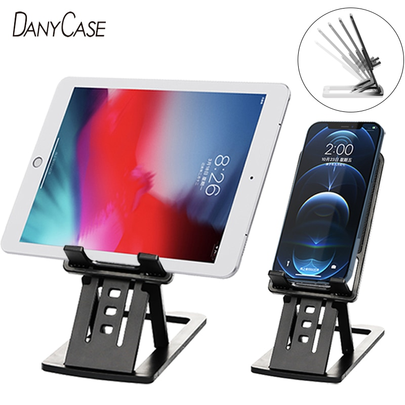 Universal Foldable Desk Phone Holder Mount Stand For Samsung S20 Plus Ultra Note 10 iPhone 12Pro Tel